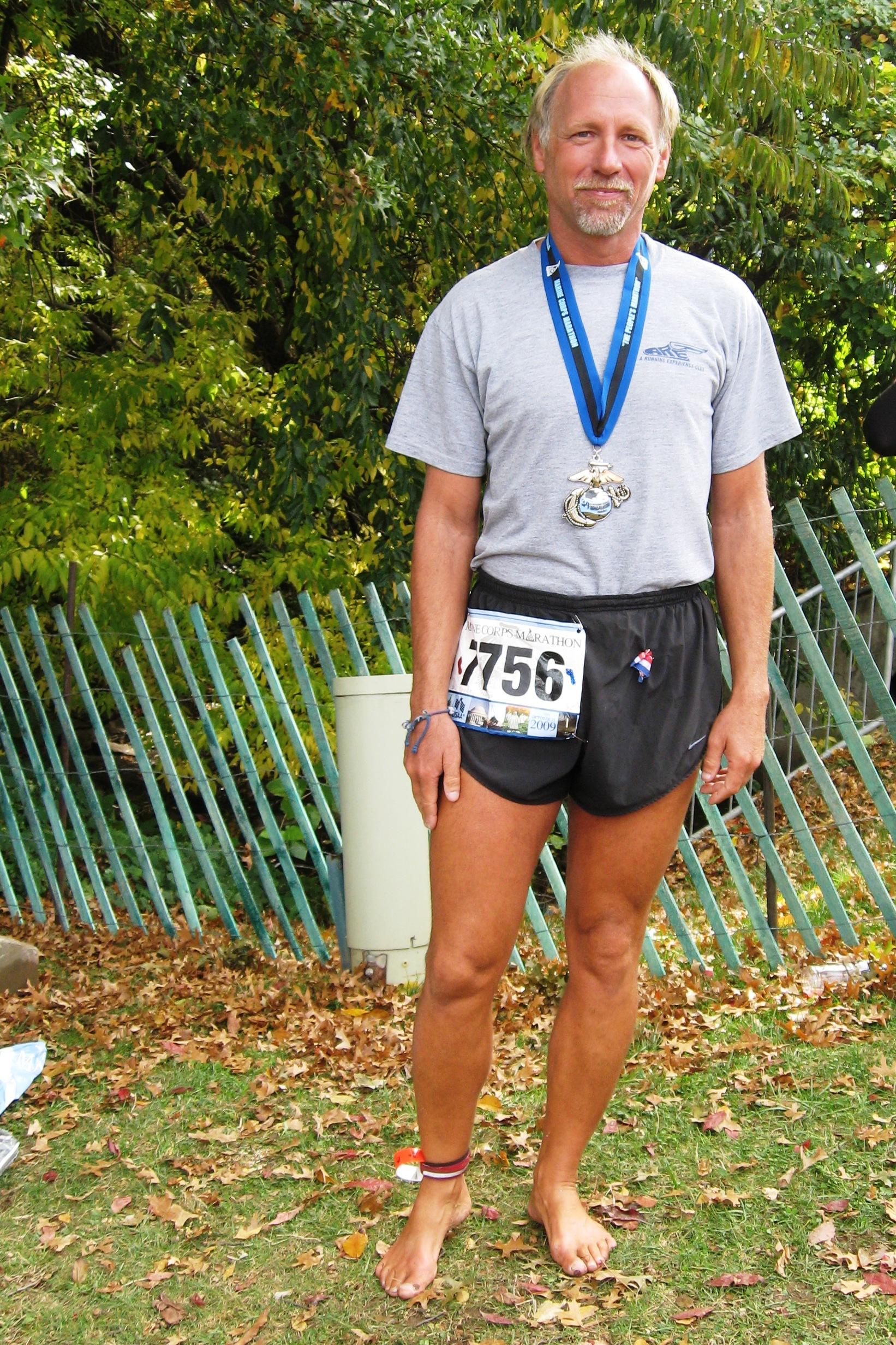 Marine Corp Marathon 2009